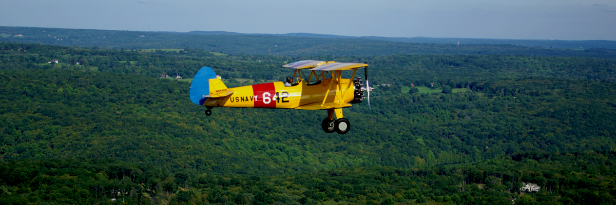 Stearman biplane tours
