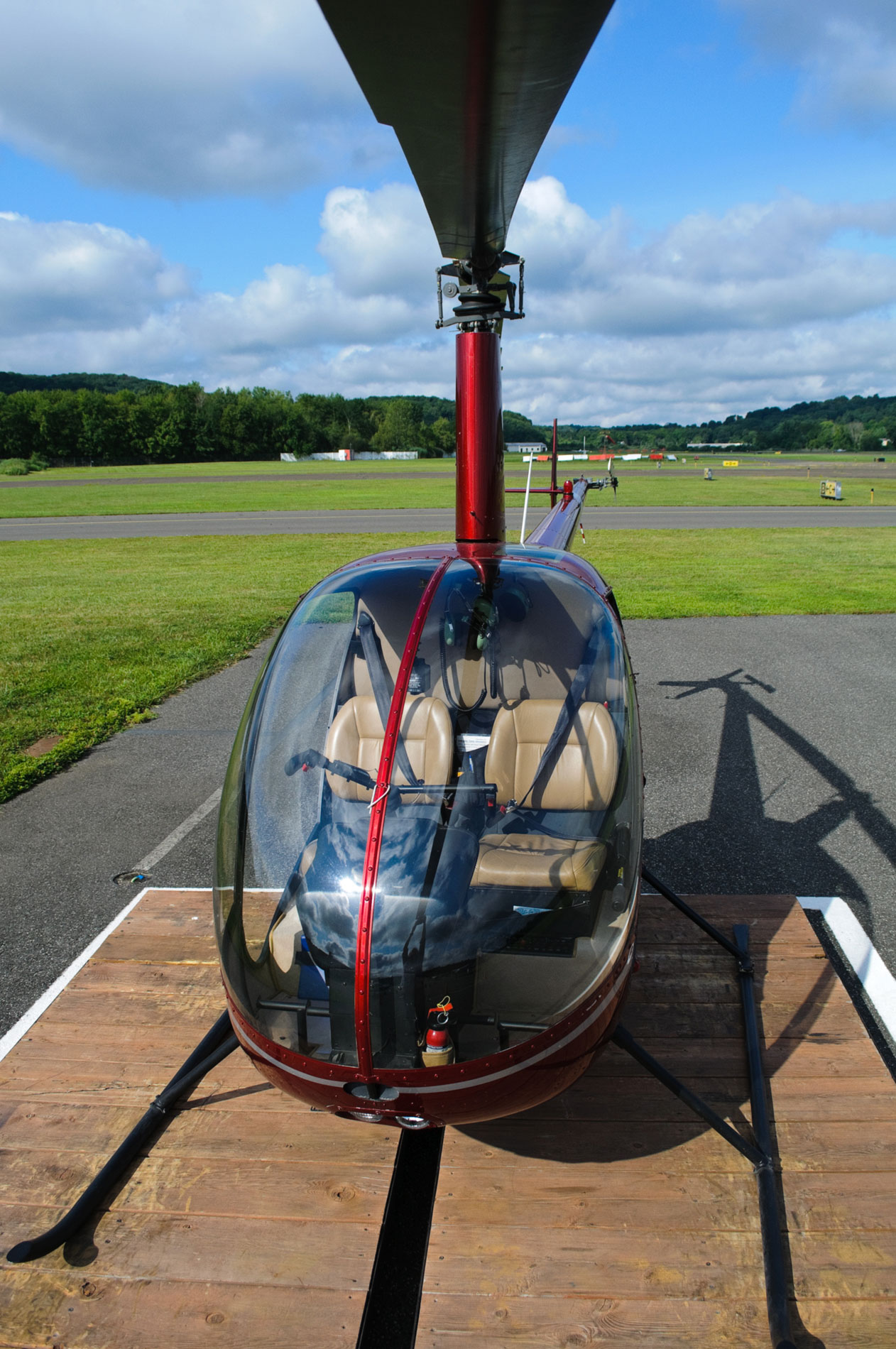 Danbury Airport's premier helicopter flight school